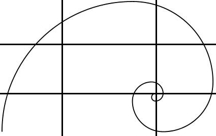 Comment réussir les photos : nombre d'or et suite de Fibonacci - règles de cadrage
