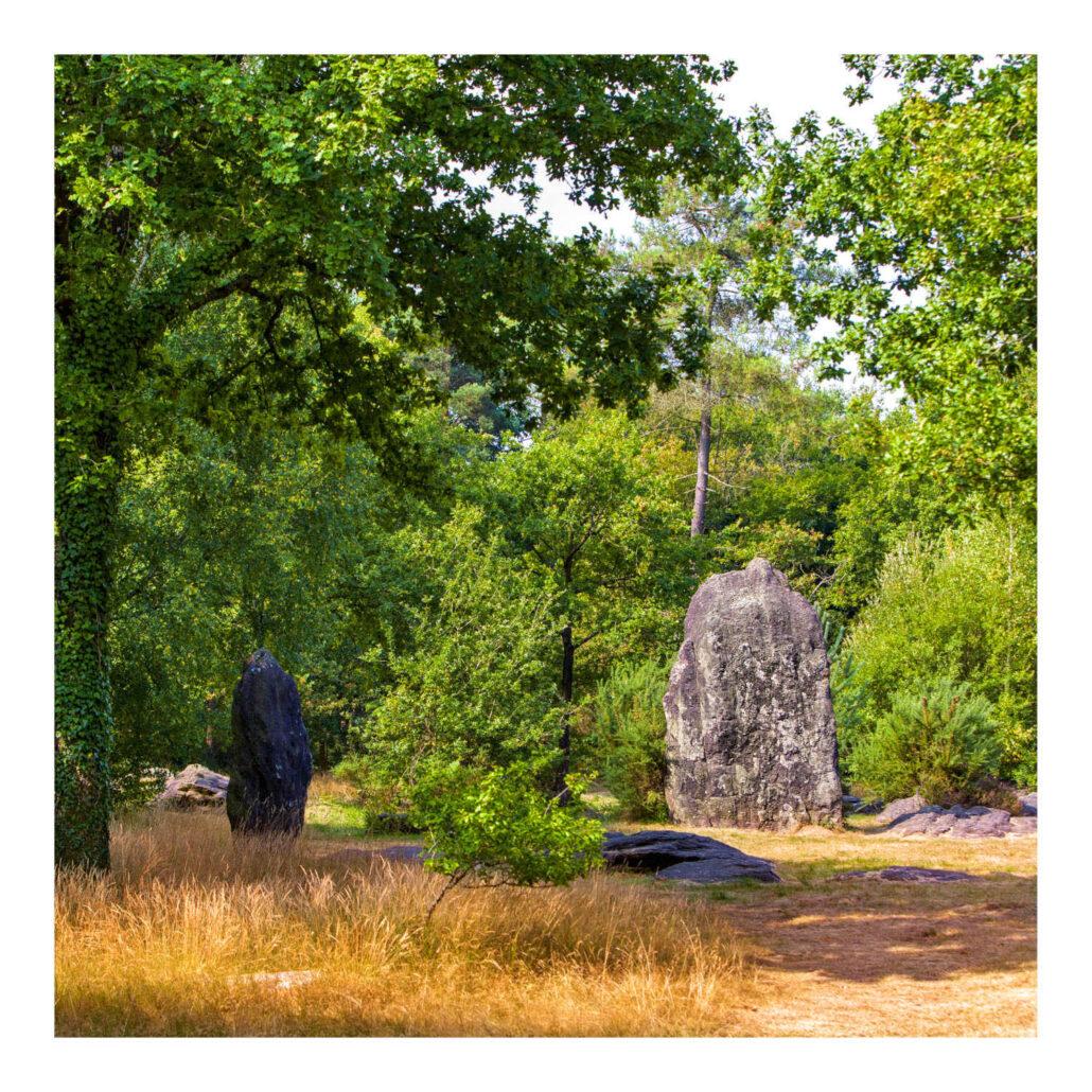 Menhirs en Bretagne / Finistère