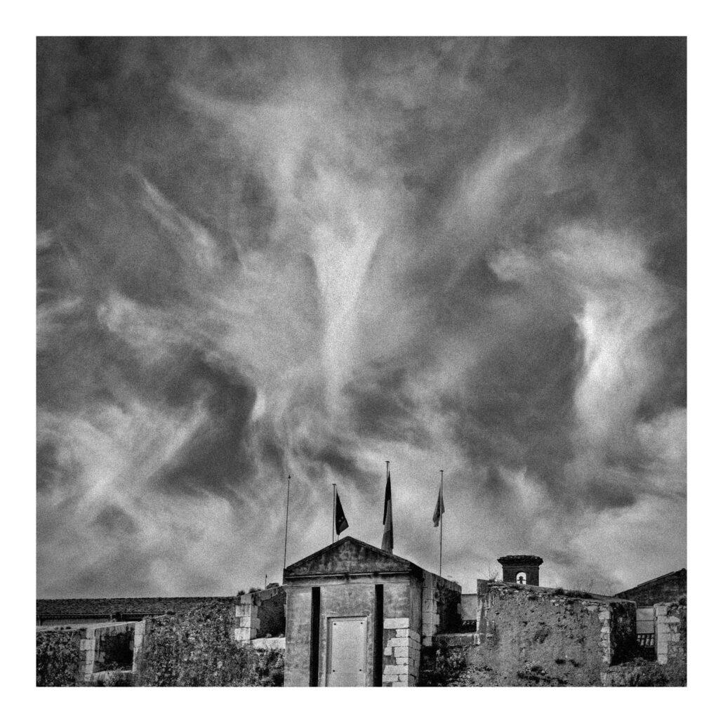 Nuages au-dessus de la Citadelle de Villefranche-sur-Mer