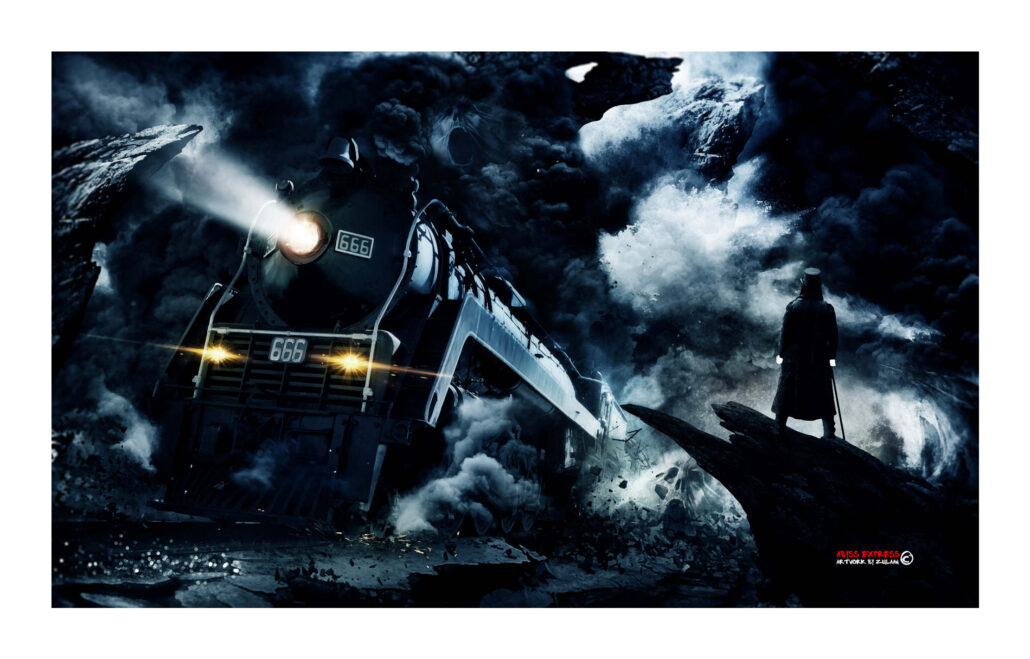 Matte painting - Abyss Express