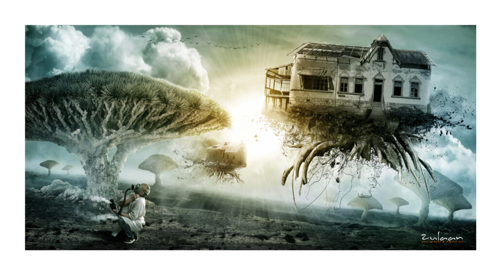 Matte painting - First Breath